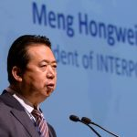 China offering no proof against ex-Interpol chief, wife says