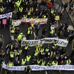 Numbers down for France's 'Yellow vest' protests