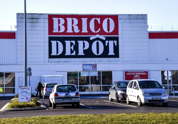 Castorama and Brico Depot stores to shut in France