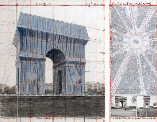 Paris' Arc de Triomphe will be all wrapped up with special artwork