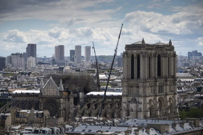 'Clean your homes': Paris police warn Notre-Dame neighbours over lead risk