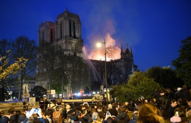 Notre-Dame fire: Cathedral's main structure and towers 'saved' thanks to firefighters