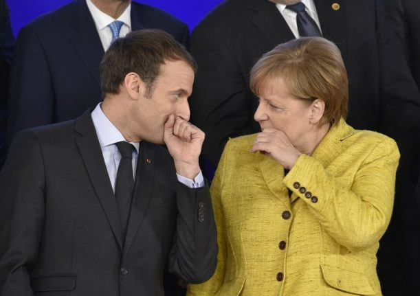 France and Germany 'not on same page' over Brexit, admits Macron