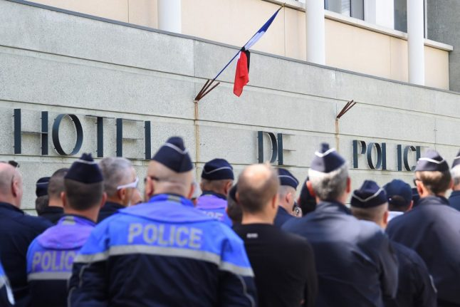 French government opens 'suicide prevention unit' for police officers