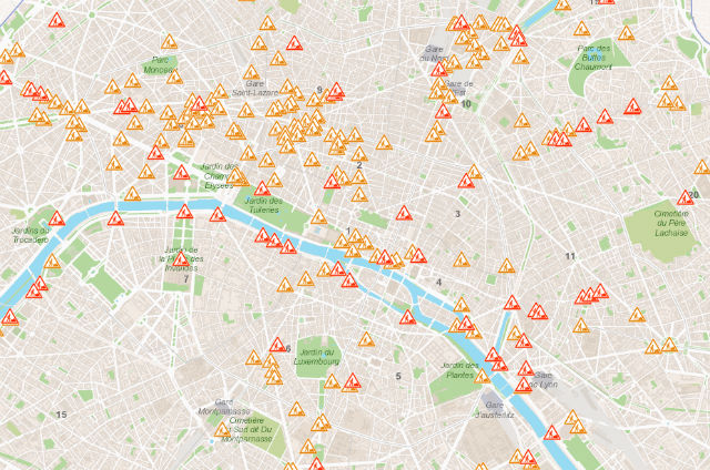 Why are there so many roadworks in Paris right now?