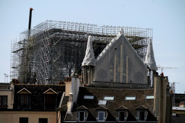 Weakened Notre-Dame 'could collapse in winds of over 90km/h' claims Paris engineer