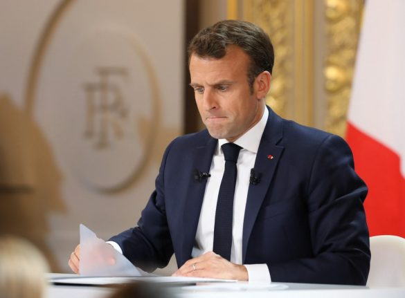 OPINION: Macronsplaining marathon won't unify France, but may have swung a Euro election win