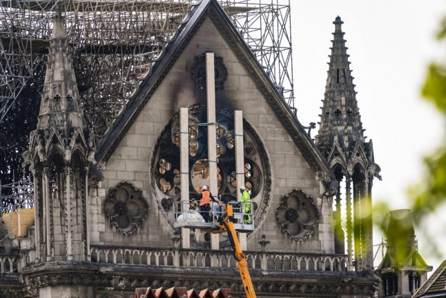 Workers smoked at Notre-Dame but 'were not to blame for fire'
