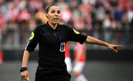 Woman to referee top French Ligue 1 football match for first time