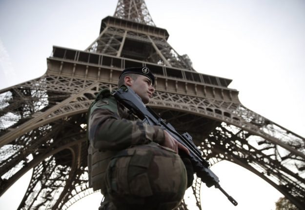 Four arrested in France over planned 'extremely violent' attack on security forces