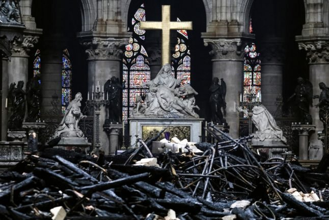 IN PICTURES: Full scale of the damage at Notre-Dame revealed