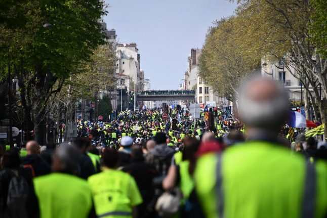 What to expect from Act 22 of the 'yellow vest' protests in France this weekend