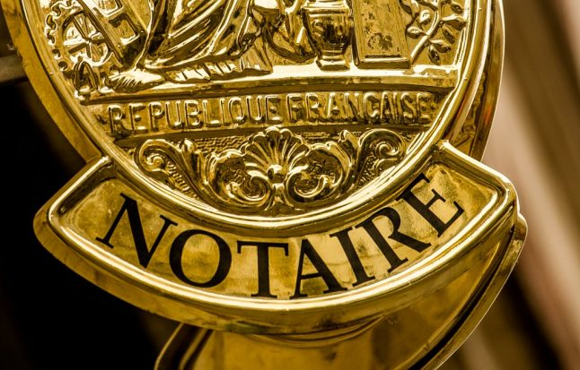 The reasons why you'll need a notaire in France
