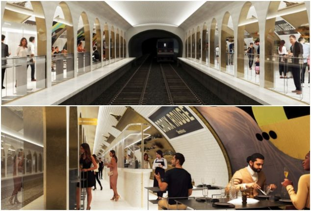 Paris ghost metro station to be revamped into trendy cocktail bar