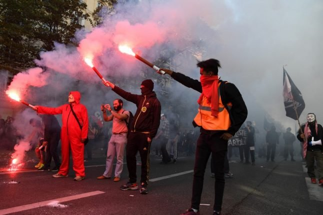 Yellow vests, Black Bloc and trade unions: What to expect from the protests in France on May 1st