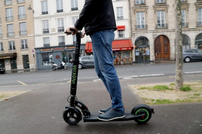 Paris brings in €135 fines in battle against rogue electric scooter riders