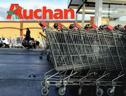 French supermarket chain Auchan apologises over swastika bags