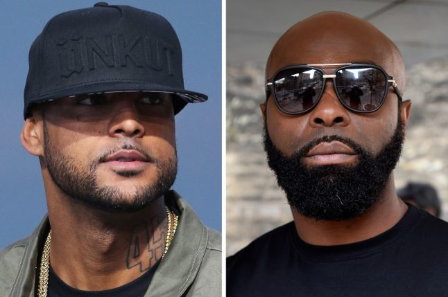Feuding French rappers to settle scores in Swiss cage fight