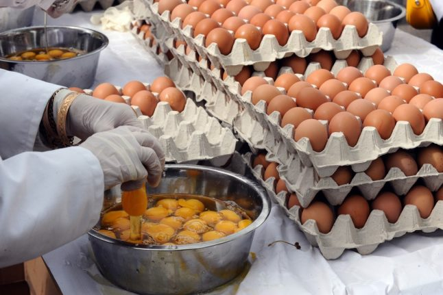 Why one French town is buying 15,000 eggs in time for Easter