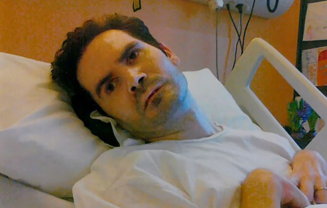 Life support resumes for vegetative Frenchman after court order