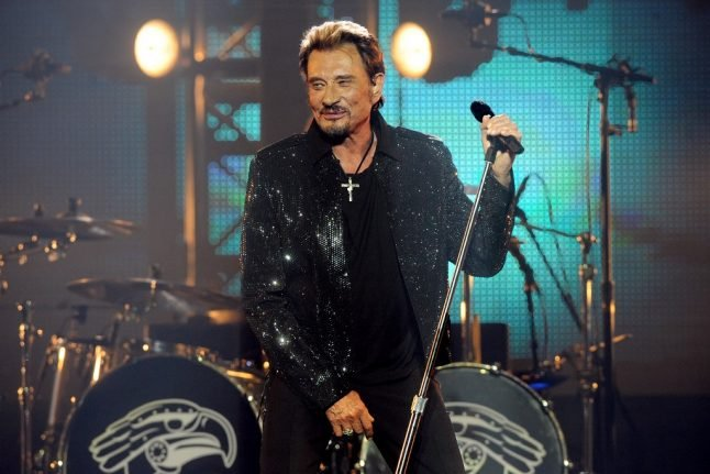 Five things you never knew about French rock legend Johnny Hallyday