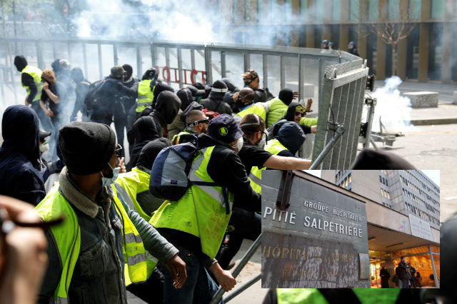 'Unspeakable': Why did dozens of protesters burst into a Paris hospital during May 1st demonstrations?