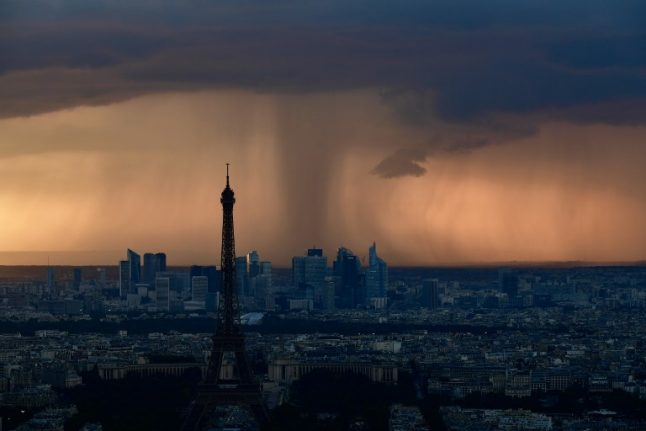 Paris records record May rainfall – and there's more to come