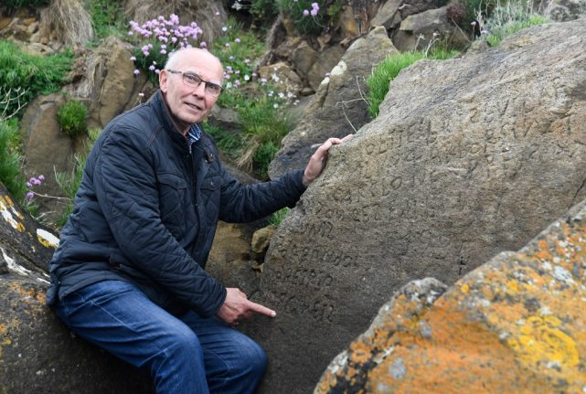 French village offers €2,000 reward for anyone who can decipher mystery stone message