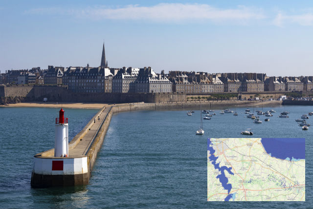 These are the areas of France that will be most affected by rising sea levels