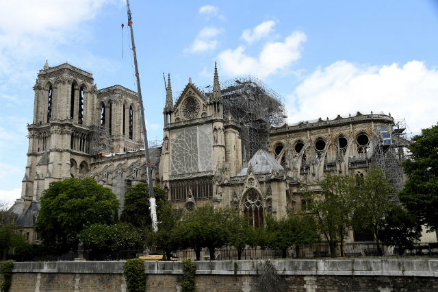 French MPs vote through law on speedy Notre-Dame restoration