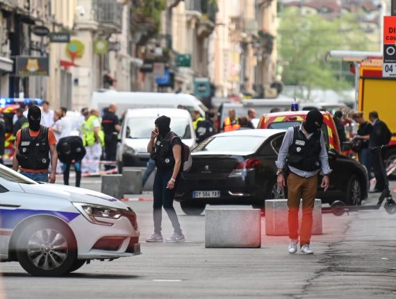 At least 13 hurt in suspected package bomb blast in centre of Lyon