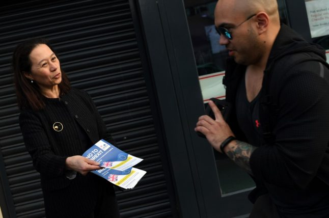 European elections: French lawyer fights Brexit at UK polls