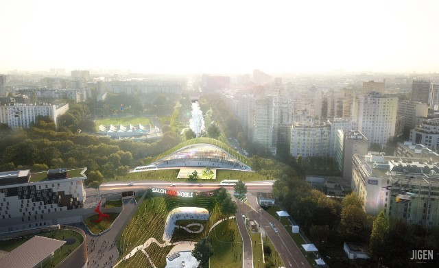 Will Paris' famously gridlocked ring road be replaced with a park?