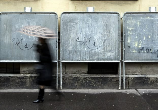 Why are there so many large, metal boards springing up across France?