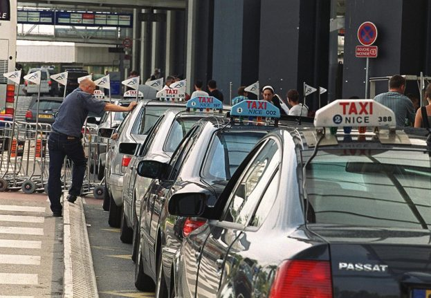 French taxi drivers stage Nice airport strike as Cannes film festival begins