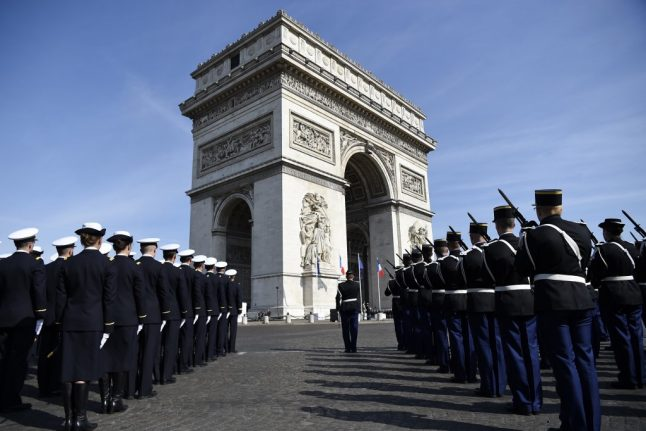 Paris' Arc de Triomphe to be 'fully restored' for VE Day