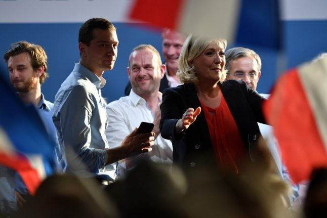 Le Pen narrowly tops European election polls in France in blow for Macron