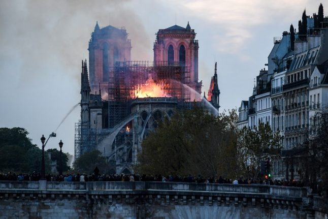 French health officials warn of lead pollution risks after Notre-Dame blaze
