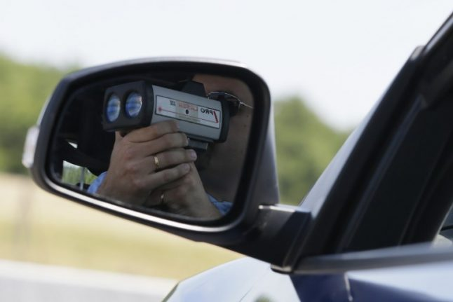 The three French regions set to get extra unmarked speed traps