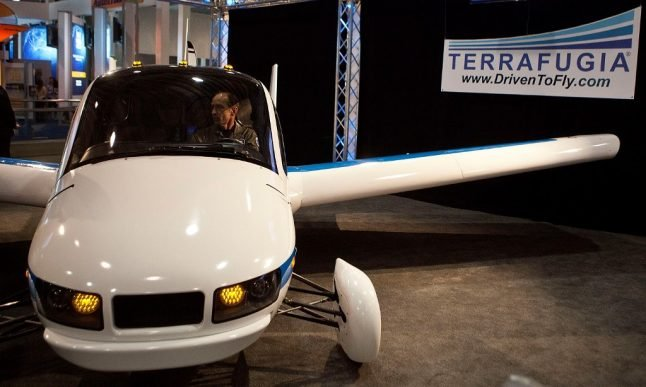 Is the Paris public transport network set to get flying cars?