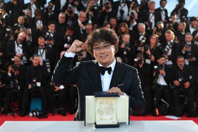 'Parasite', South Korean comedy about class rage, wins Cannes gold