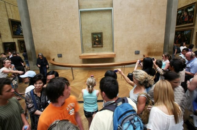 'Our romantic night with Mona Lisa in Paris'