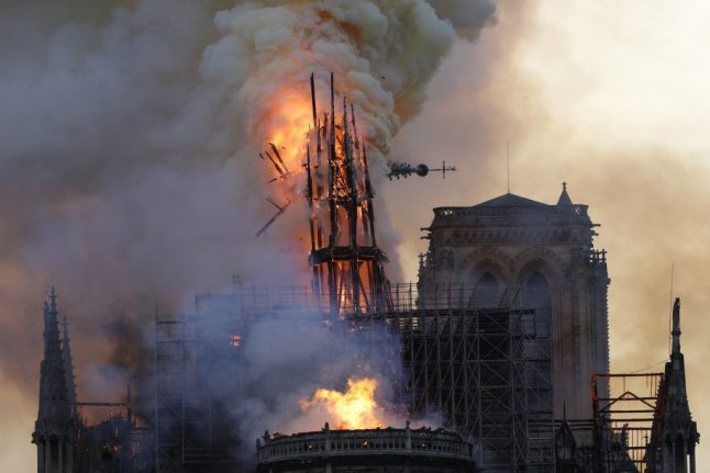 Notre-Dame fire likely caused by discarded cigarette or electrical fault