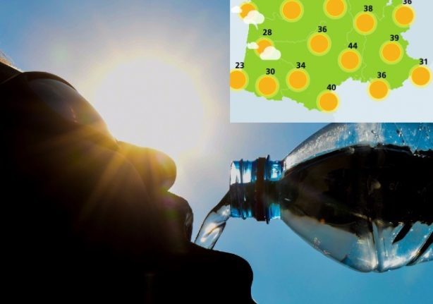 Heatwave: Temperature in France reaches all-time high of 45.9C