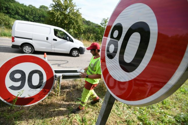 France's hated 80km/h speed limit could be scrapped after vote in parliament