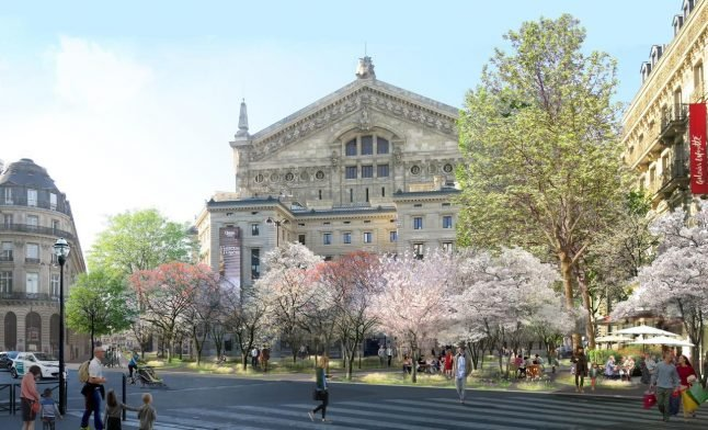 In Pictures: Paris mayor unveils plan to create four 'urban forests' in city centre