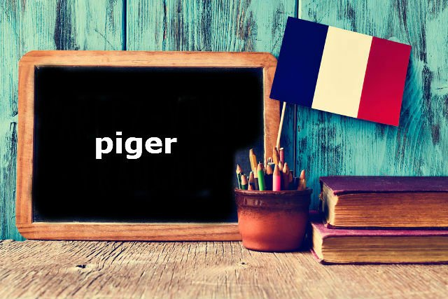 French Word of the Day: piger