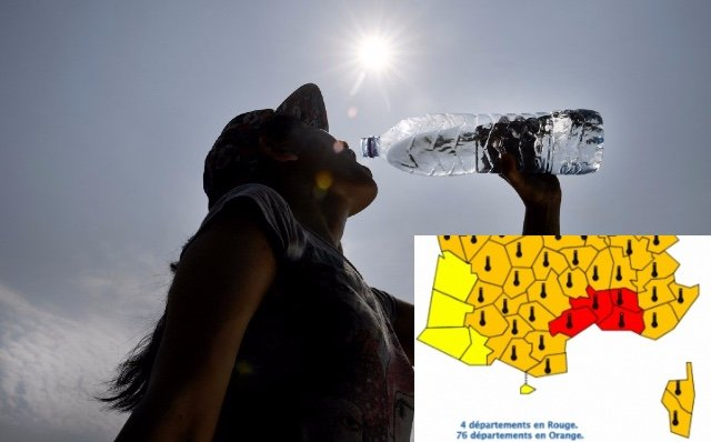 Heatwave alert level in south of France raised to RED for the first time