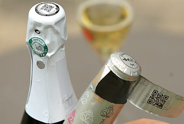 Tech in labels brings data, security to Champagne industry