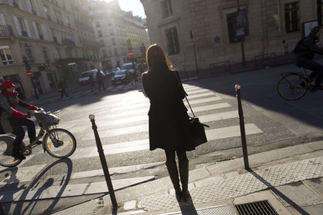 VIDEO of Paris driver in road rage attack on blind pedestrian and friend goes viral